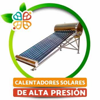 Calentadores solares de alta presi�n acero inoxidable
